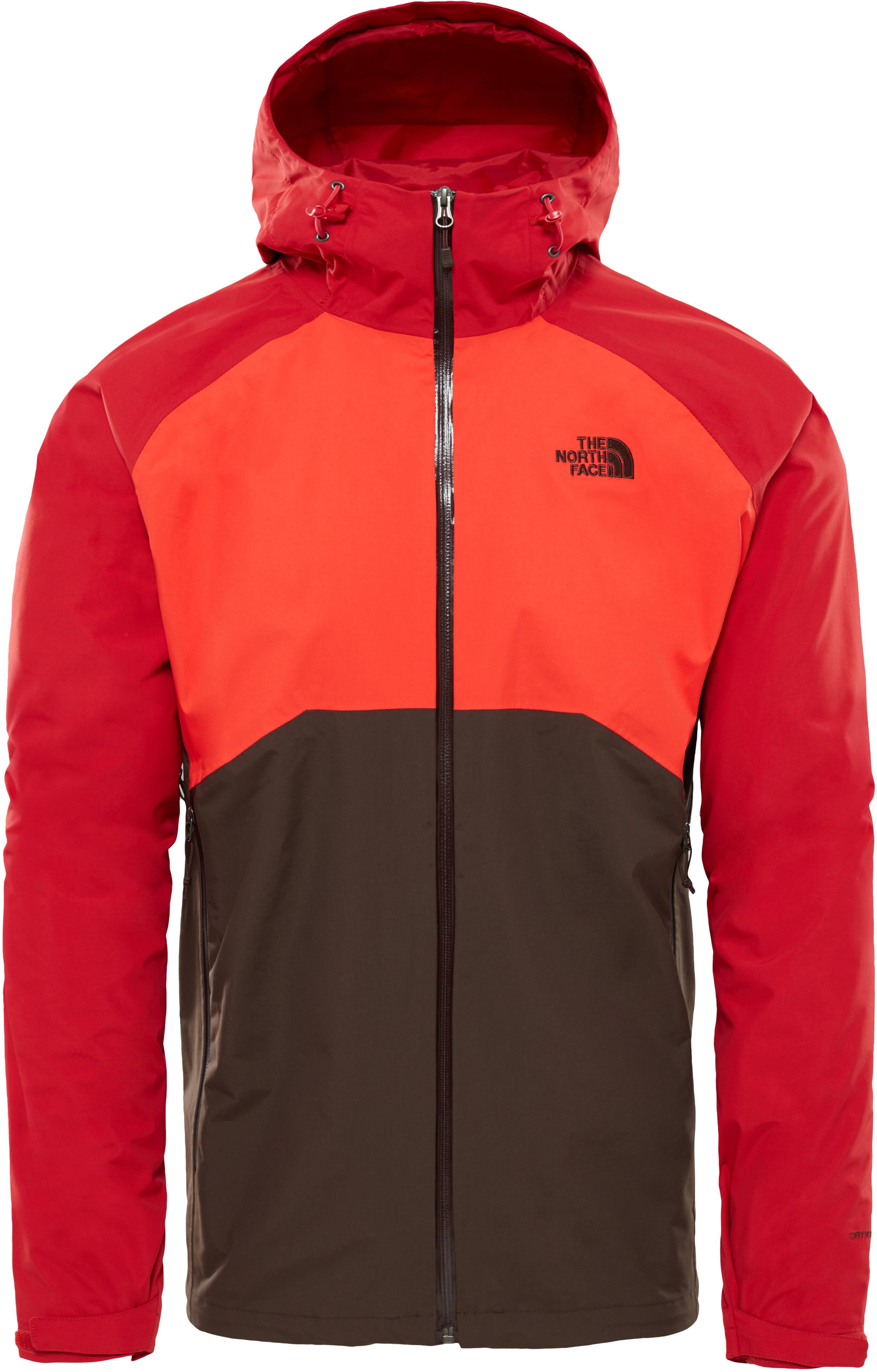 The North Face Stratos - Veste Homme - rouge noir sur CAMPZ ! 1da95aa0ad68